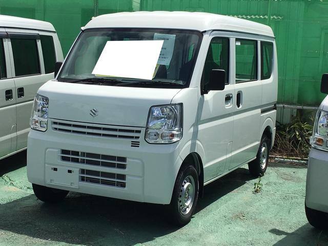 沖縄の中古車 スズキ エブリイ 車両価格 98万円 リ済込 2019(令和1)年 4km ホワイト