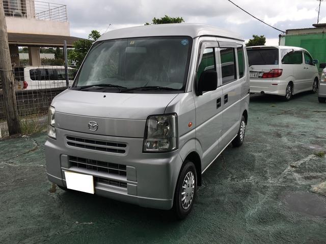 沖縄の中古車 マツダ スクラム 車両価格 26万円 リ済込 2008(平成20)年 19.3万km シルバー
