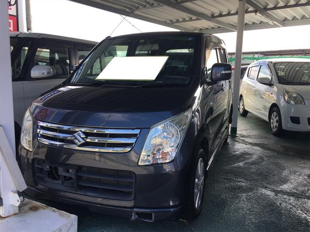 沖縄の中古車 スズキ ワゴンR 車両価格 25万円 リ済込 2009(平成21)年 9.3万km ガンM