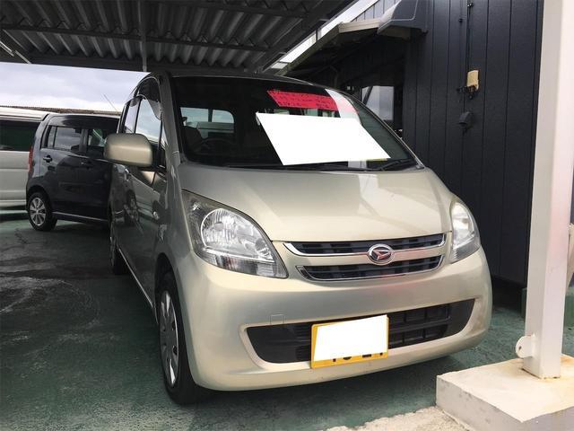 沖縄の中古車 ダイハツ ムーヴ 車両価格 19万円 リ済込 2009(平成21)年 4.2万km ゴールド