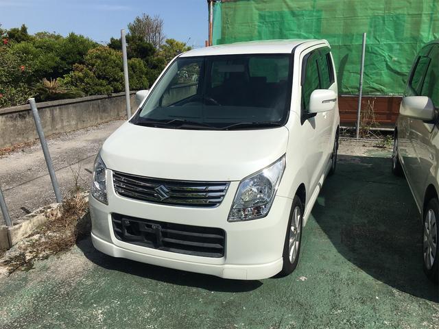 沖縄の中古車 スズキ ワゴンR 車両価格 29万円 リ済込 2012(平成24)年 11.1万km ホワイト
