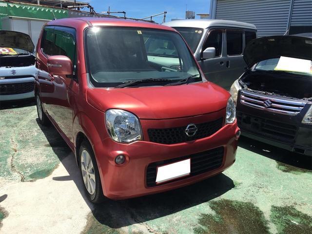 沖縄の中古車 日産 モコ 車両価格 23万円 リ済込 2011(平成23)年 9.0万km レッドM
