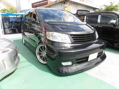 沖縄の中古車 トヨタ アルファードV 車両価格 69万円 リ済込 平成16年 9.0万K ブラックM