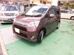 沖縄の中古車 ダイハツ ムーヴ 車両価格 55万円 リ済込 平成24年 9.7万K パープル