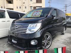 沖縄の中古車 日産 エルグランド 車両価格 69万円 リ済込 平成19年 12.5万K ブラック