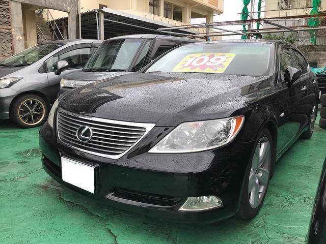 沖縄の中古車 レクサス LS 車両価格 109万円 リ済込 2007(平成19)年 15.6万km ブラック