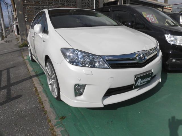 沖縄の中古車 トヨタ SAI 車両価格 95万円 リ済込 2011(平成23)年 10.3万km ホワイト