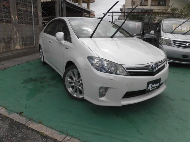 沖縄の中古車 トヨタ SAI 車両価格 69万円 リ済込 2010(平成22)年 12.2万km パール