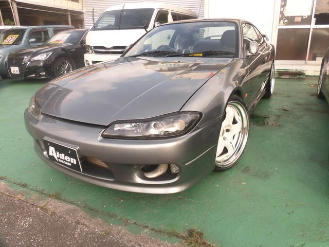 沖縄の中古車 日産 シルビア 車両価格 298万円 リ済込 1999(平成11)年 走不明 グレー