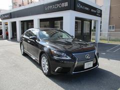 沖縄の中古車 レクサス LS 車両価格 496万円 リ済別 平成25年 1.6万K スターライトブラックガラスフレーク