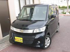 沖縄の中古車 スズキ パレットSW 車両価格 48万円 リ済込 平成21年 7.7万K ブラックM