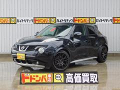 沖縄の中古車 日産 ジューク 車両価格 122万円 リ済別 平成23年 7.2万K ブラックM