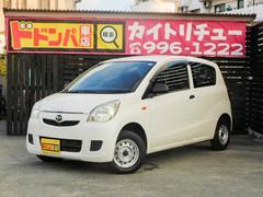 沖縄の中古車 ダイハツ ミラ 車両価格 15万円 リ済別 平成20年 8.9万K ホワイト
