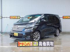 沖縄の中古車 トヨタ ヴェルファイア 車両価格 184万円 リ済別 平成22年 9.5万K ブラックM