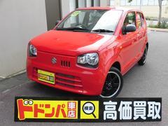 沖縄の中古車 スズキ アルト 車両価格 65万円 リ済込 平成27年 1.7万K レッド