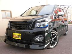 沖縄の中古車 トヨタ ヴォクシー 車両価格 148万円 リ済込 平成23年 6.2万K ブラック