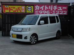 沖縄の中古車 スズキ ワゴンR 車両価格 15万円 リ済別 平成19年 14.2万K パール
