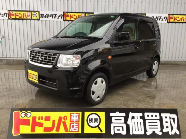 沖縄の中古車 三菱 eKワゴン 車両価格 29万円 リ済込 平成23年 10.3万km ブラックM