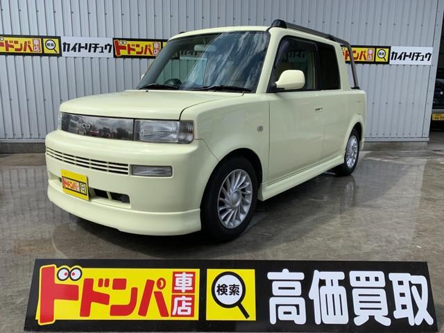 沖縄の中古車 トヨタ bB 車両価格 35万円 リ済込 平成13年 16.2万km ベージュ