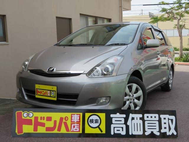 沖縄の中古車 トヨタ ウィッシュ 車両価格 34万円 リ済込 2006(平成18)年 8.3万km グレーM