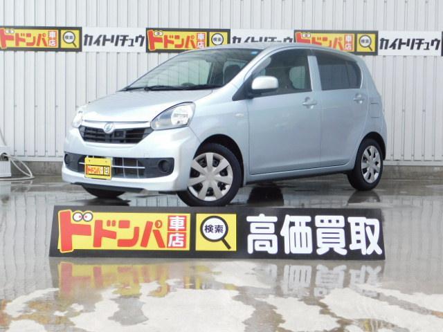沖縄の中古車 ダイハツ ミライース 車両価格 48万円 リ済別 平成28年 6.3万km シルバーM