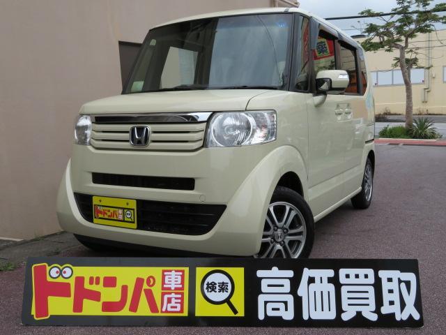 沖縄の中古車 ホンダ N-BOX 車両価格 62万円 リ済込 2013(平成25)年 11.5万km イエロー