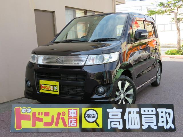 沖縄の中古車 スズキ ワゴンRスティングレー 車両価格 42万円 リ済込 2010(平成22)年 11.7万km ワインM