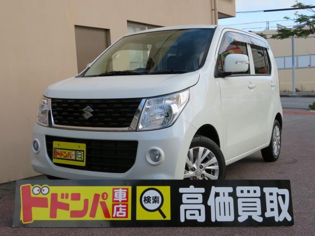 沖縄の中古車 スズキ ワゴンR 車両価格 73万円 リ済込 2016(平成28)年 7.4万km パールII