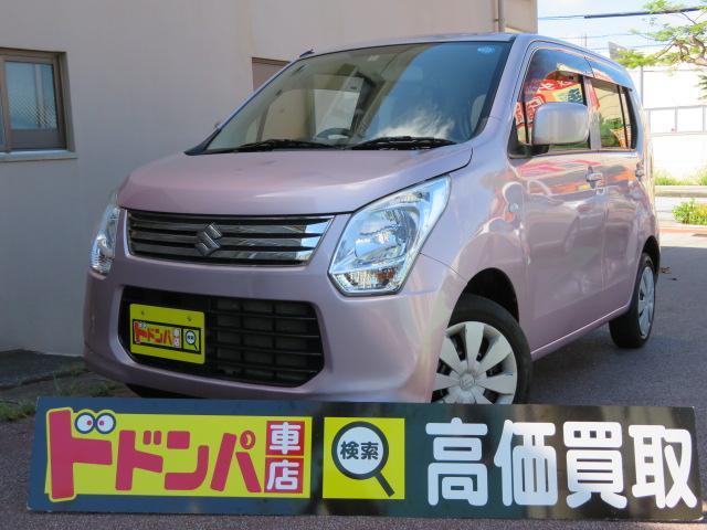 沖縄の中古車 スズキ ワゴンR 車両価格 38万円 リ済込 2012(平成24)年 8.4万km ピンクM