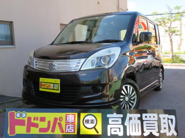 沖縄の中古車 スズキ ソリオ 車両価格 33万円 リ済込 2011(平成23)年 14.3万km DブラウンM