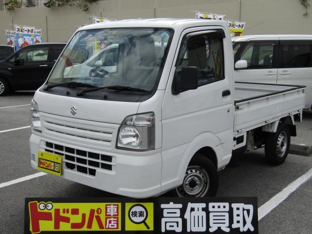 沖縄の中古車 スズキ キャリイトラック 車両価格 52万円 リ済別 2014(平成26)年 1.8万km ホワイト