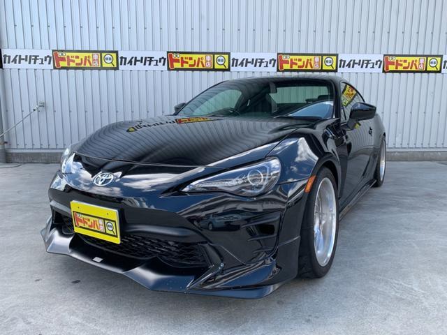 沖縄県の中古車なら86 ターボ 6速MT ツインクラッチ 車高調 TRDエアロ
