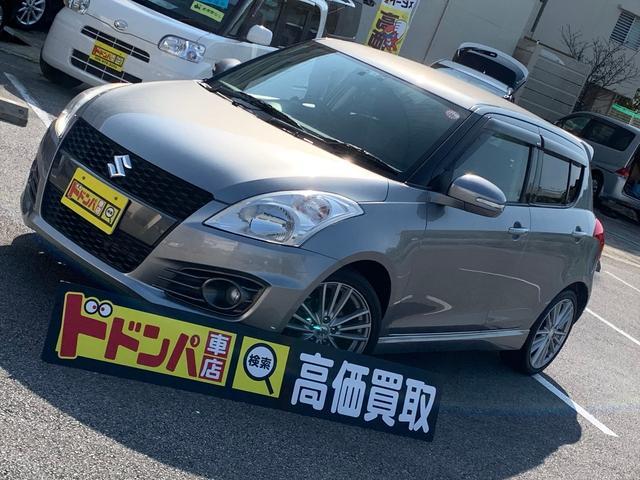 沖縄の中古車 スズキ スイフトスポーツ 車両価格 108万円 リ済込 2014(平成26)年 2.3万km シルバーM