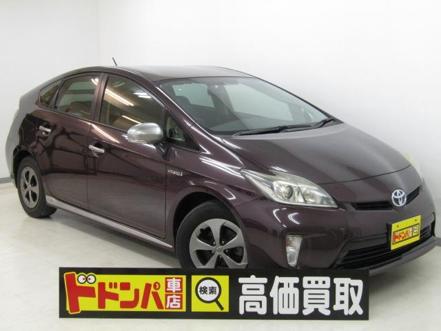 沖縄の中古車 トヨタ プリウス 車両価格 98万円 リ済込 2013(平成25)年 10.6万km ワインM