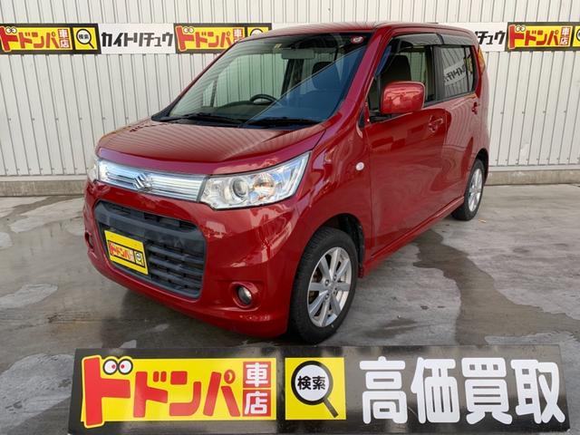 沖縄の中古車 スズキ ワゴンRスティングレー 車両価格 40万円 リ済込 2013(平成25)年 10.9万km レッドM