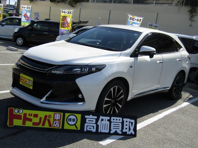 沖縄県の中古車ならハリアー エレガンス G's ワンオーナー禁煙車 9インチモニター新品