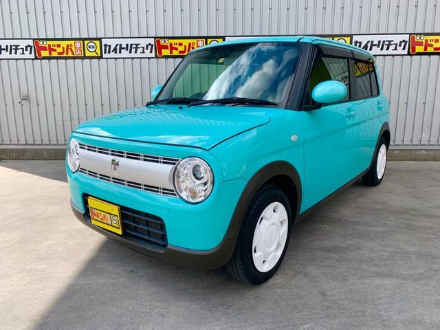 沖縄県の中古車ならアルトラパン レーダーブレーキサポート フルセグTV