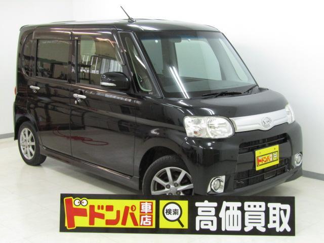 沖縄の中古車 ダイハツ タント 車両価格 58万円 リ済込 2012(平成24)年 7.0万km ブラックM