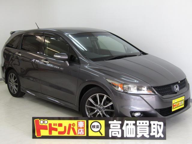 沖縄の中古車 ホンダ ストリーム 車両価格 88万円 リ済込 2013(平成25)年 4.3万km シルバーM