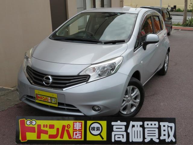 沖縄の中古車 日産 ノート 車両価格 48万円 リ済込 2014(平成26)年 10.0万km グレーM