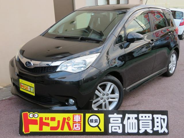 沖縄の中古車 スバル トレジア 車両価格 48万円 リ済込 2011(平成23)年 9.0万km ブラックM