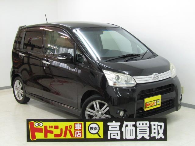 沖縄の中古車 ダイハツ ムーヴ 車両価格 40万円 リ済込 2012(平成24)年 10.3万km ブラック