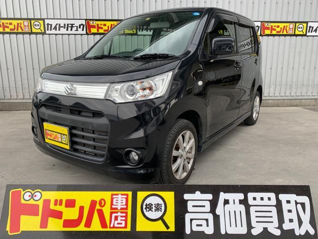 沖縄の中古車 スズキ ワゴンRスティングレー 車両価格 60万円 リ済込 2013(平成25)年 7.7万km ブラック