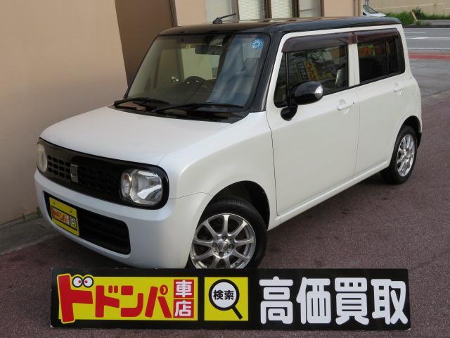 沖縄県豊見城市の中古車ならアルトラパン X CD ラジオ