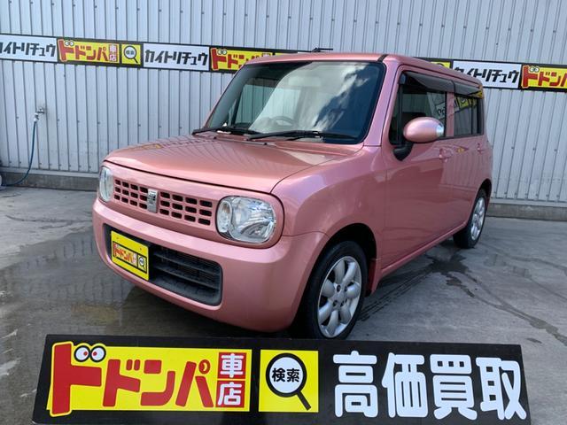 沖縄の中古車 スズキ アルトラパン 車両価格 41万円 リ済込 2009(平成21)年 2.8万km ピンクM