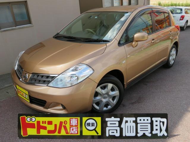 沖縄県豊見城市の中古車ならティーダ 15M CD AUX ラジオ