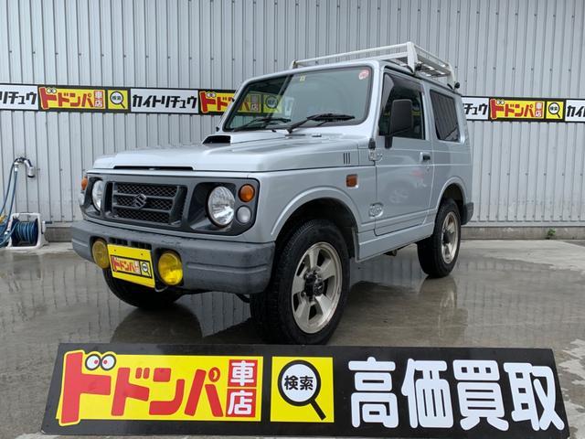 沖縄の中古車 スズキ ジムニー 車両価格 29万円 リ済込 1996(平成8)年 15.8万km シルバー