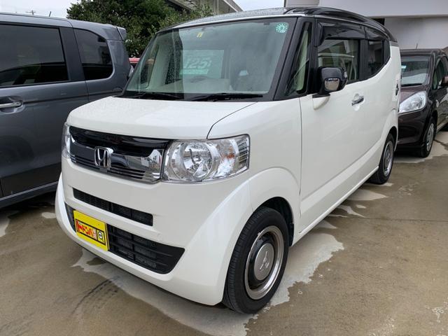沖縄の中古車 ホンダ N-BOXスラッシュ 車両価格 99万円 リ済込 2016(平成28)年 5.2万km パールホワイト