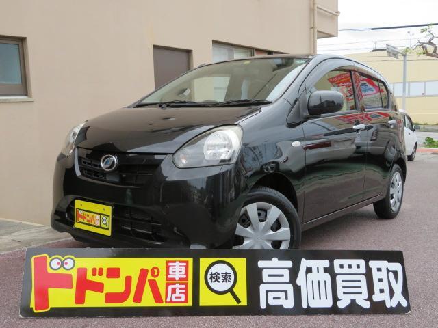 沖縄の中古車 ダイハツ ミライース 車両価格 35万円 リ済込 2012(平成24)年 8.0万km ブラックM