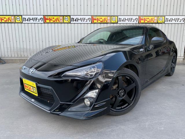 沖縄県の中古車なら86 GT TRDエアロ 柿本マフラー 新品SSRホイール、タイヤ